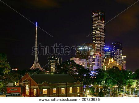 melbourne arts centre skyline - Google Search