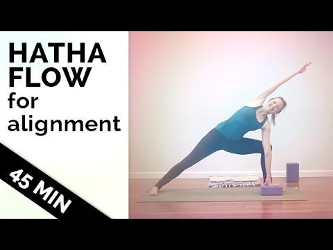 This week's yoga video is a gentle hatha yoga class. There is no flowy vinyasa movement, so if you're looking to work up a sweat, this is not the video to ch...