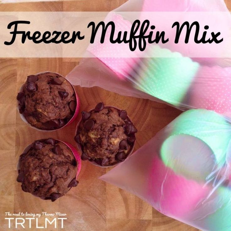 Freezer Muffin Mix – The Road to Loving My Thermo Mixer