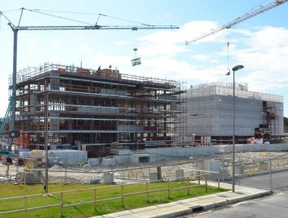 February 2014 - Building A/Building B #workinprogress #soleis #realestate #forsale #italy #lignano