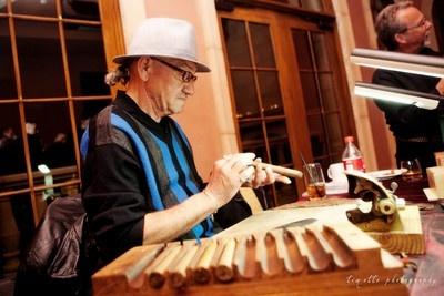 wedding blog cigar rollers weddings