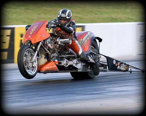 """Top Fuel Harley  Live life fast....slide into the finish line....screaming """"Wow, that was ONE HELLUVA RIDE!"""