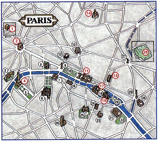 La promenade du virtuo-touriste à travers le Paris virtuel d'Internet