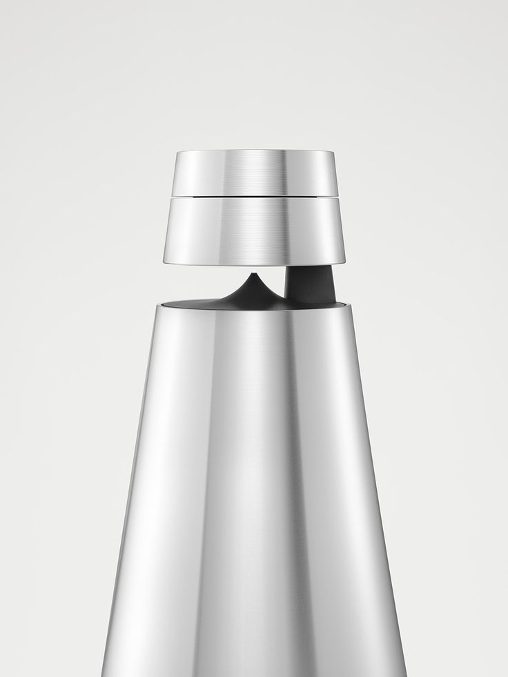 A close-up of the BeoSound 1, perfect way to see the aluminium details!