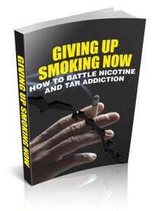Giving Up Smoking Now  Learning About Quit Smoking Today Can Have Amazing Benefits For Your Life! Win battles against nicotine and live free!  Quit Smoking Today. It seems so easy. If you wish to stop smoking all you have to do is to quit. There you have it-a guideline for breaking free from one of the most lethal terrors ever to hit humans. Almost 5 million individuals yearly pass away from smoking.  File Size: 3.15 MB License: Master Resell Rights Published: 08 Jun 2015  Do you want to get…