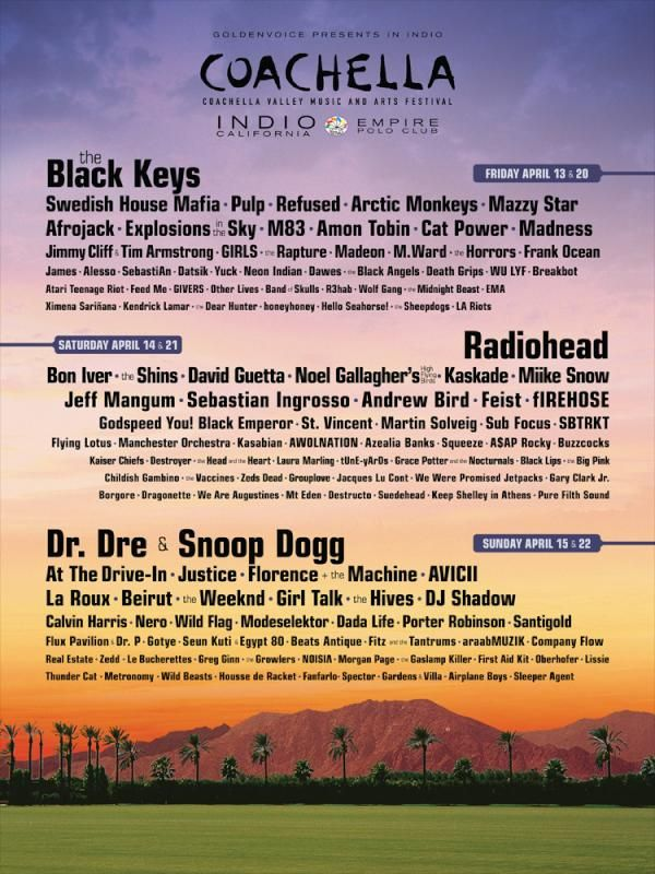 very very interesting lineup for coachella 2012, can't wait to see which bands mosey on over to texas for acl