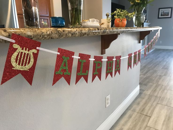 Alpha Chi Omega Sorority Super Sparkly Glitter Banner A Chi O~ College~ Rush Week Welcome Back~ Sorority House Decor~ Recruitment~ Go Greek by TheGoldArtichoke on Etsy
