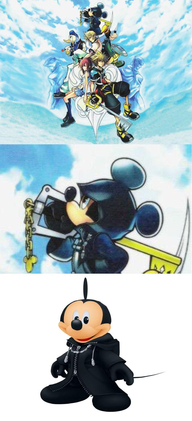 Mickey Mouse's Ears in Kingdom Hearts II.