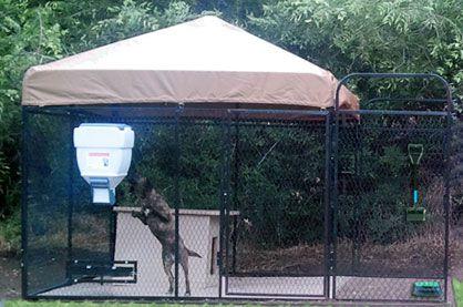 Ultimate K9 | Kennel Designs, How to Build Dog Kennel, Outdoor Dog Kennels, Dog Runs