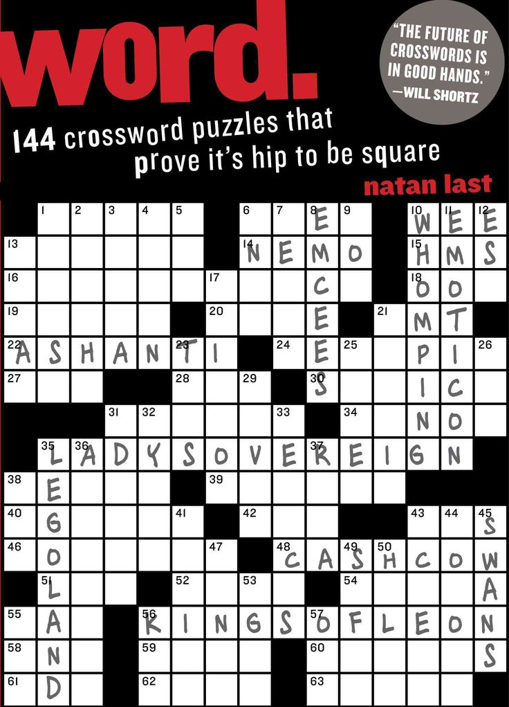 144 Crossword Puzzles That Prove Itu0027s Hip to Be Square  sc 1 st  Pinterest & 25 best classy crosswords! images on Pinterest | Crossword ...
