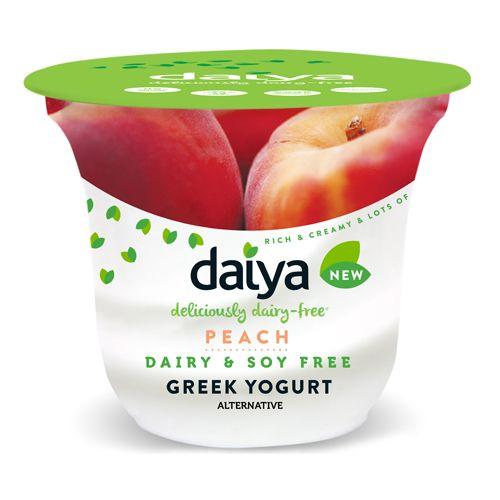 Peach Greek Yogurt Alternative - Daiya Foods, Deliciously Dairy-Free Cheeses, Meals & More