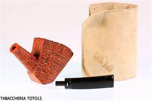 Visualizza i dettagli per PIPA BALDO BALDI GRADO 9 RUSTICATA- PIPE OF NATURAL BRIAR ROOT BY BALDO BALDI