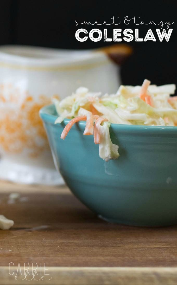 Easy Coleslaw Recipes: Sweet & Tangy Coleslaw