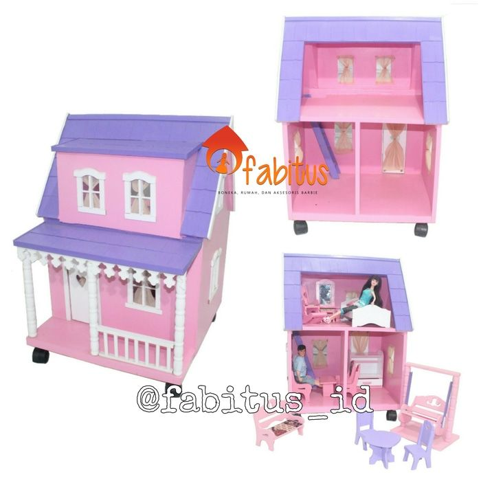 Fabitus Barbie House : Rumah Arthur