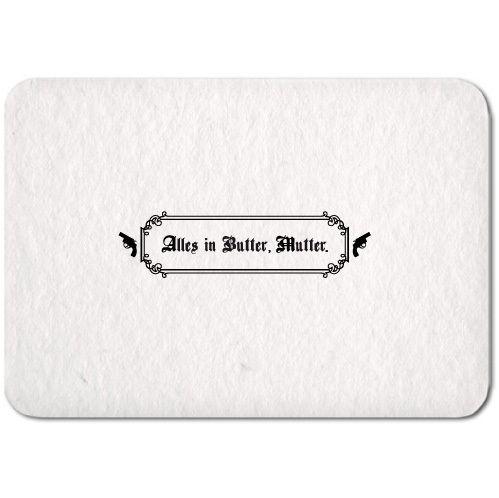 Muttertagskarte ›Alles in Butter, Mutter.‹ - S.W.W.S.W.