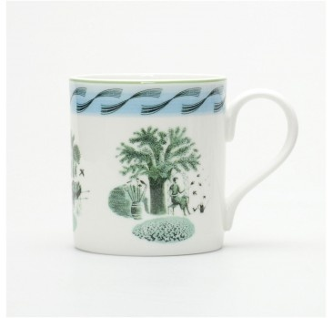 Eric Ravilious Garden Mug - Designers Collection
