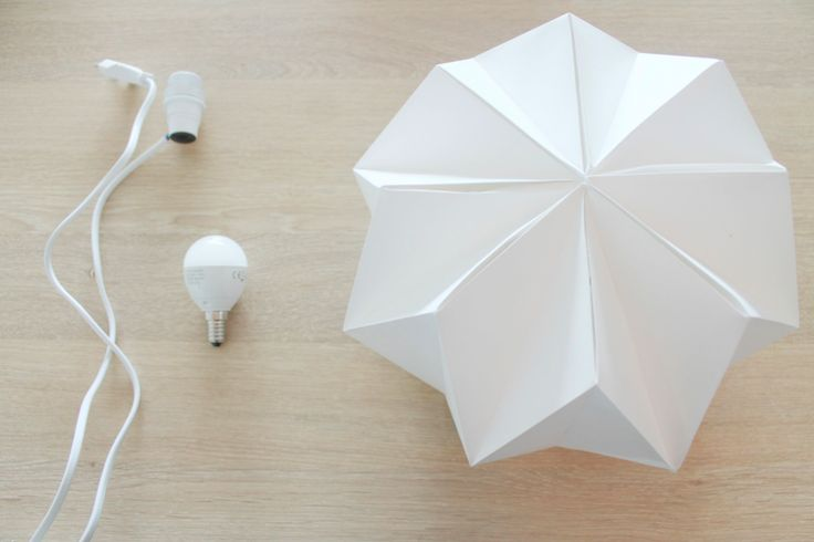 DIY : Origami Lamp | Make Yourself At Home