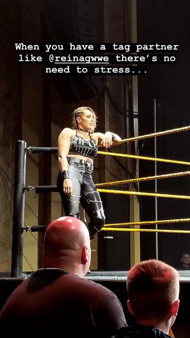 Pin By Miss Nc On Rhea Ripley Demi Bennett Stress Wrestling