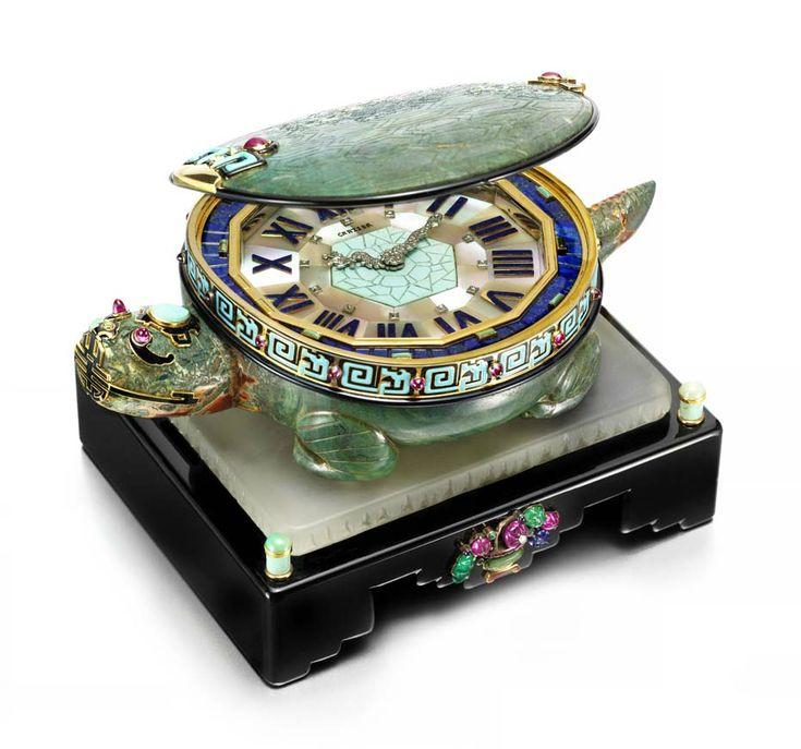 Art deco turtle clock cartier circa 1928 features a