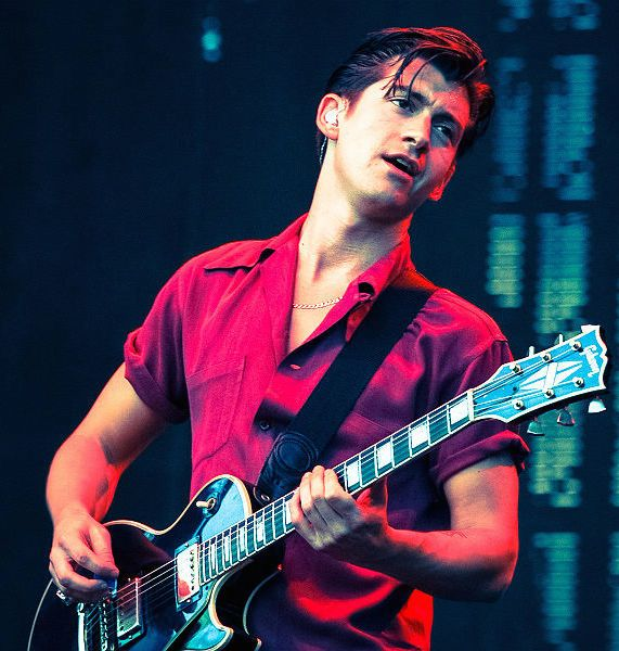 English musician, Alex Turner...