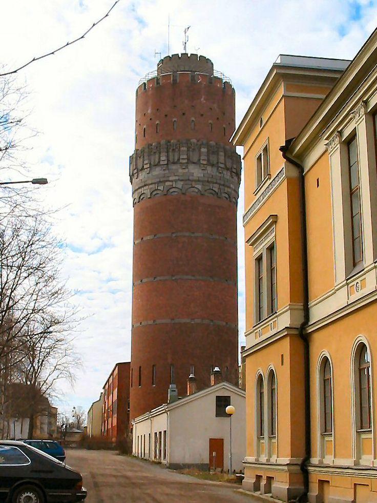 Water tower in Vaasa Finland