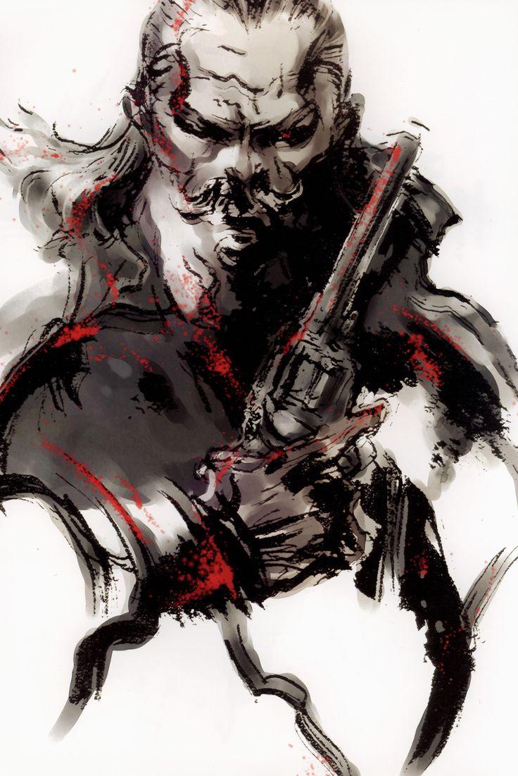 Revolver Ocelot - Metal Gear Solid