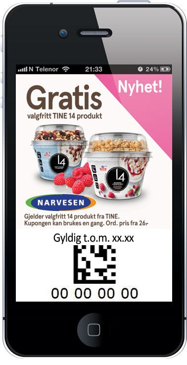 Narvesen - TINE 14