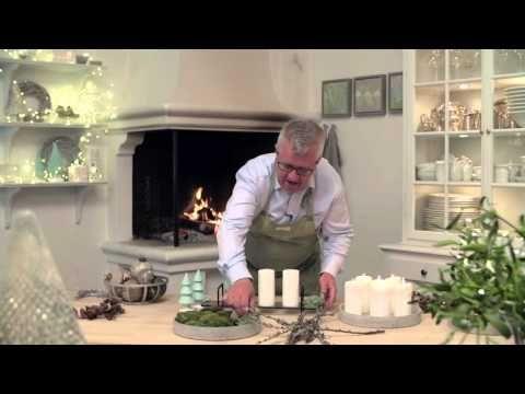 Hvordan pyntes et smukt julefad - YouTube