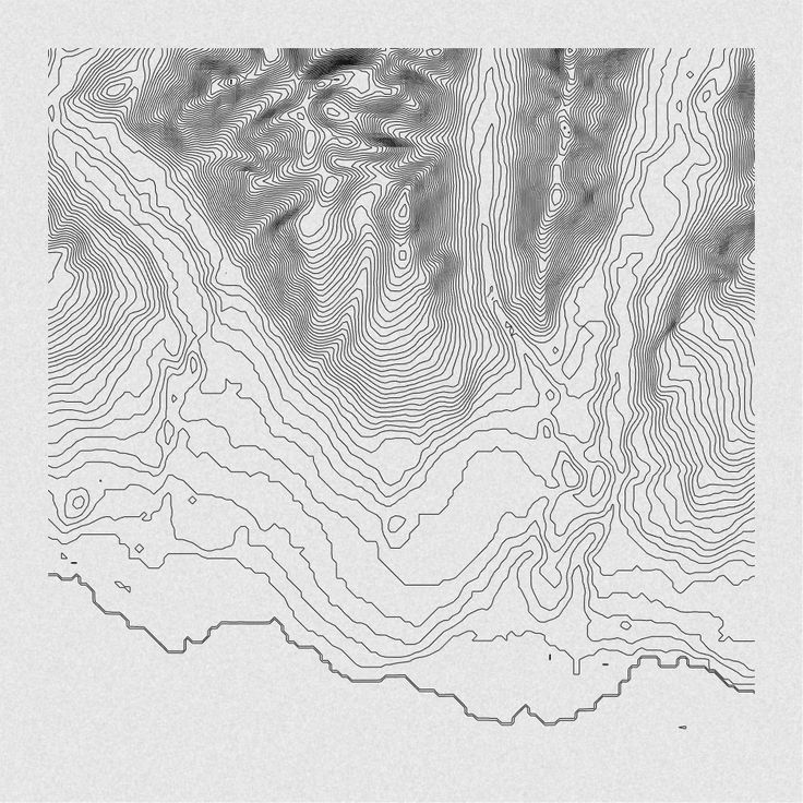 - textural topographical map - variable pattern - high contrast