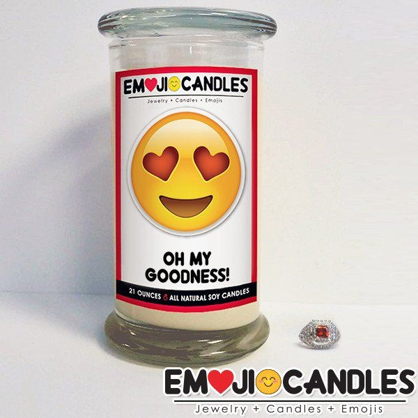 Oh My Goodness! - Emoji Candles. Add a little fun & personal touch to your gift.. with an Emoji Candle! Yes, the Emojis everyone loves now has a candle that will make everyone smile!