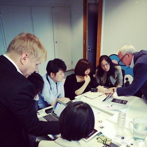 Making sure our Clients get the message through.  We helped to draft key messages and wrote a press release for key journalist visit from Japan.