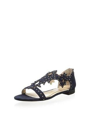 69% OFF Pour La Victoire Women's Katia Studded Swirl Sandal (Navy)
