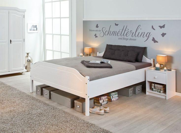 Die besten 25+ Massivholzbetten Ideen auf Pinterest solide - schlafzimmer bett modern