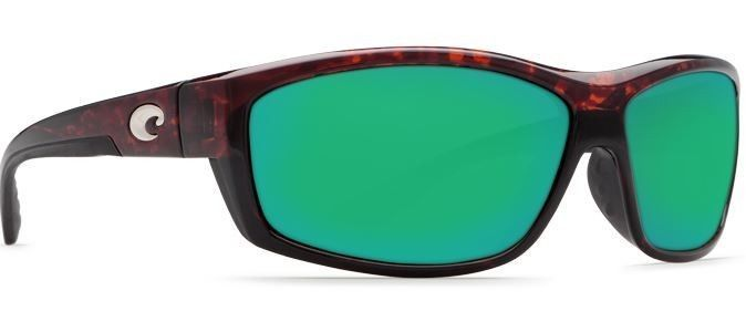 COSTA DEL MAR SALTBREAK SUNGLASSES TORTOISE/GREEN GLASS 580G MIRROR BK10 OGMGLP