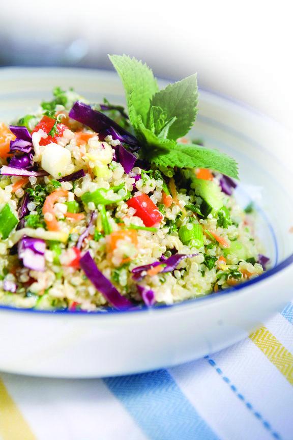 Quinoa Tabouli Salad | Victoria Laine | Whole Food Nutrition