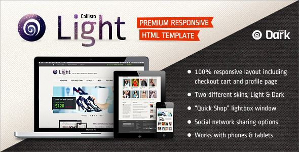 Callisto - Premium Responsive e-Commerce Template - ThemeForest Item for Sale