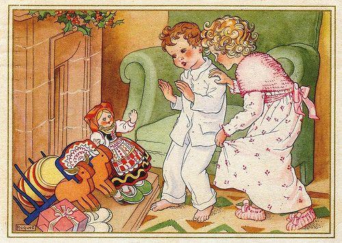Os CTT (Portugal) fecomeçaram a editar postais de Boas Festas a partir de 1934