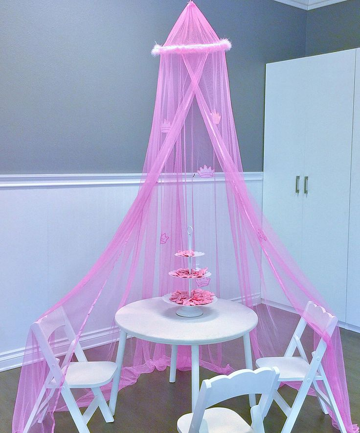Look at this Light Pink Princess Play Tent/Canopy on #zulily today!