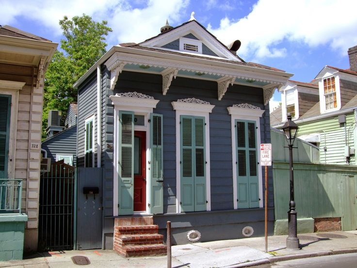 238 best images about houses shotgun on pinterest New orleans paint colors