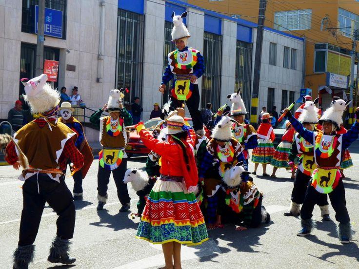 Celebrations in Tacna, Peru.