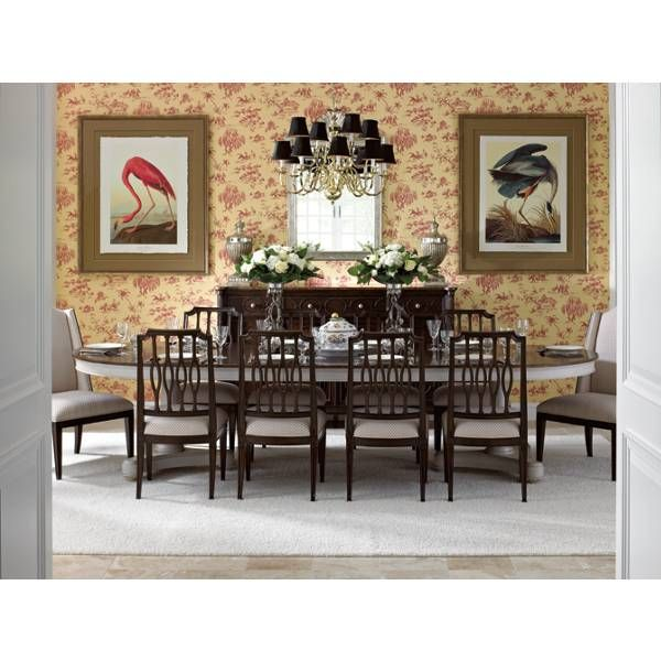 Shop For The Stanley Furniture Charleston Regency Oyster Point Double Pedestal Dining Table At Belfort