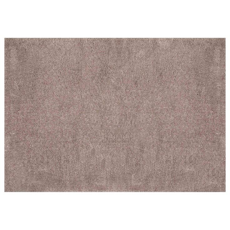 nuLOOM Airy Shag Gynel Cloudy Solid Rug, Brown