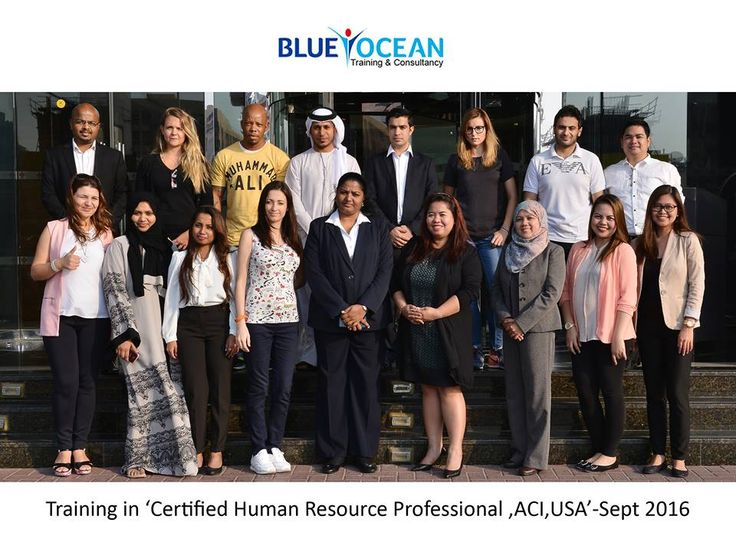 Certified Human Resource Professionals - Blue Ocean Academy http://www.blueoceanacademy.com/courses/hr-manager-professional.html
