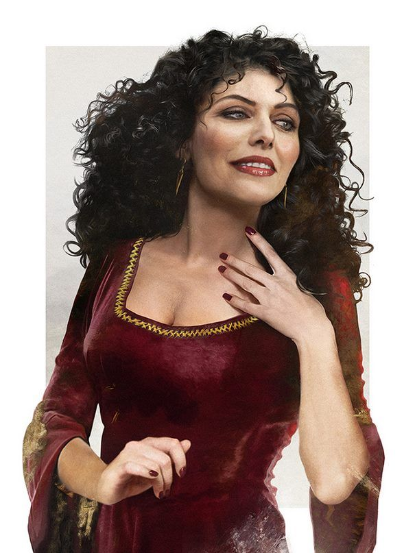 Disney Villains in real life : Gothel