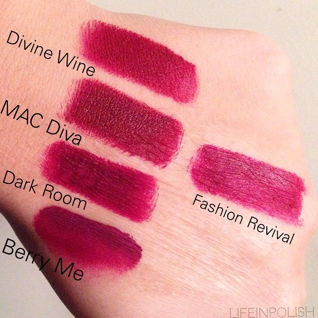Instagram post by dani lifeinpolish mac diva - Mac cosmetics lipstick diva ...