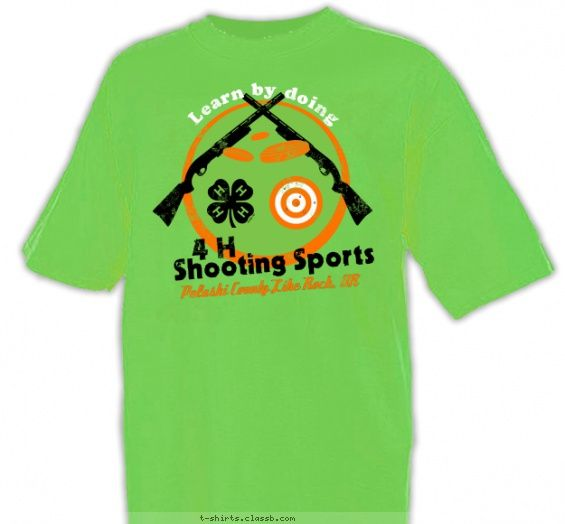 4-H Shooting Sports - 4-H Club Design SP2999