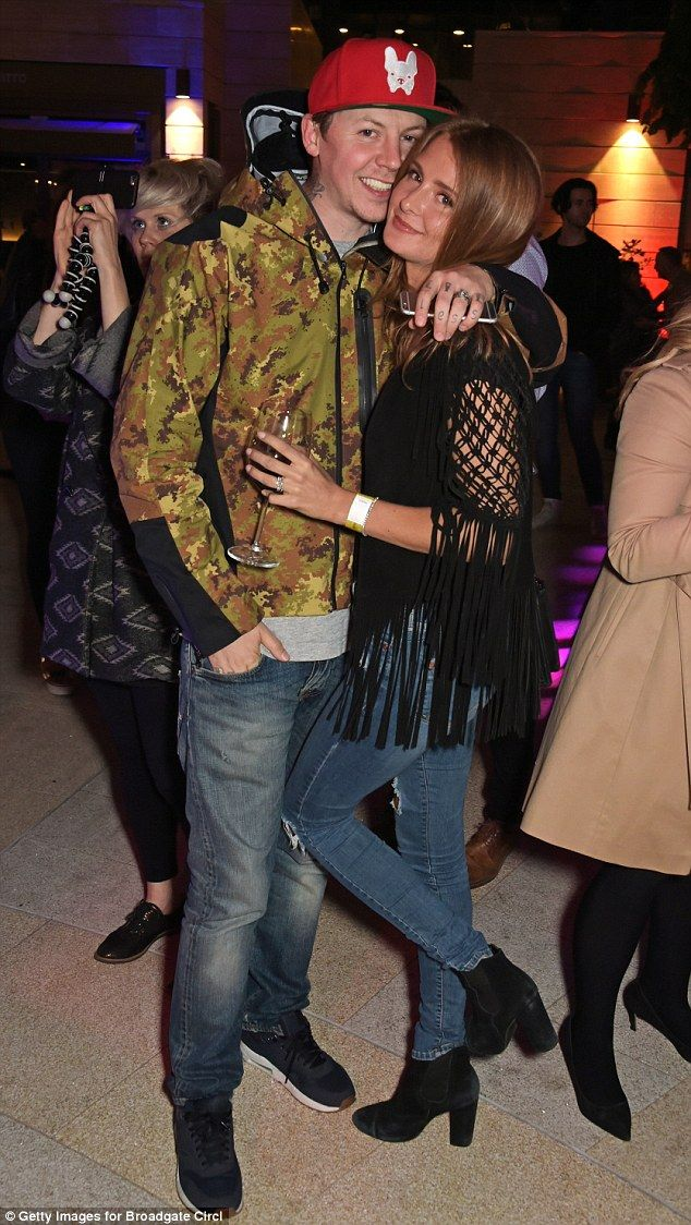 Millie Mackintosh looks as smitten as ever as she cuddles up to husband Professor Green at launch party | Daily Mail Online
