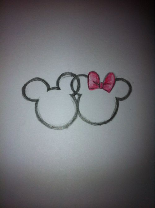 Mickey+Mouse+Icon+Tattoos | Mickey and Minnie Mouse Tattoo