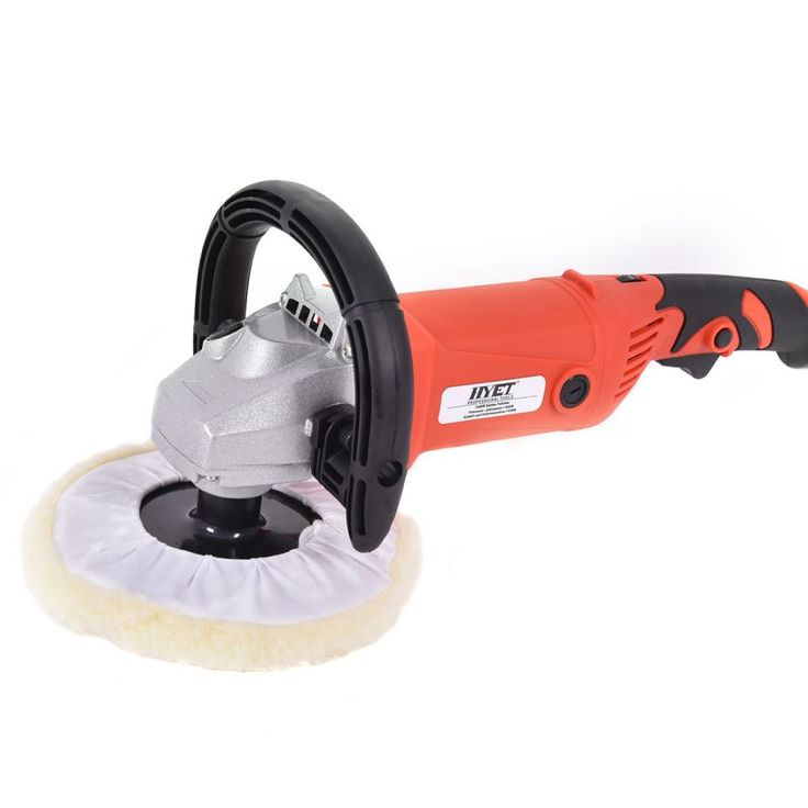 7 Car Polisher 6 Variable Speed Buffer Waxer Sander Detail Boat w/Accessories