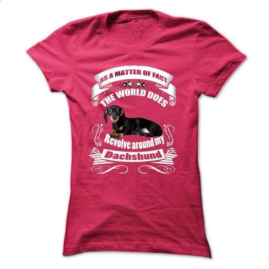 Dachshund - #tshirts #funny tees. I WANT THIS => https://www.sunfrog.com/Pets/Dachshund-60407508-Ladies.html?60505